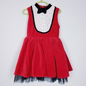 harajuku mini Dresses - Harajuku mini red black dress xs 4/5
